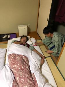 38爆睡須藤さん